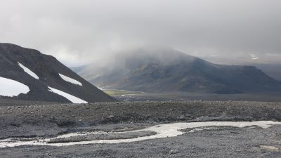 Journey to base camp Langjokull glacier