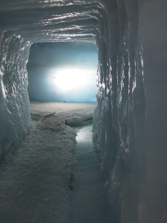 Inside the Langjokull glacier