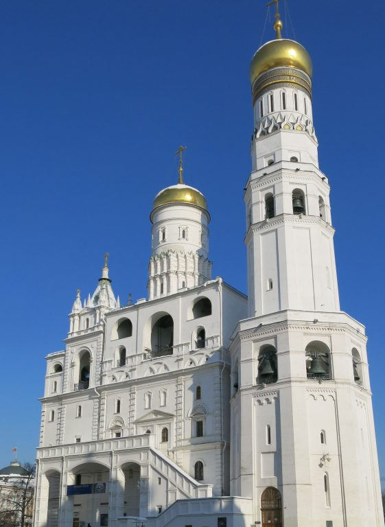 Cathedral inside Kremlin