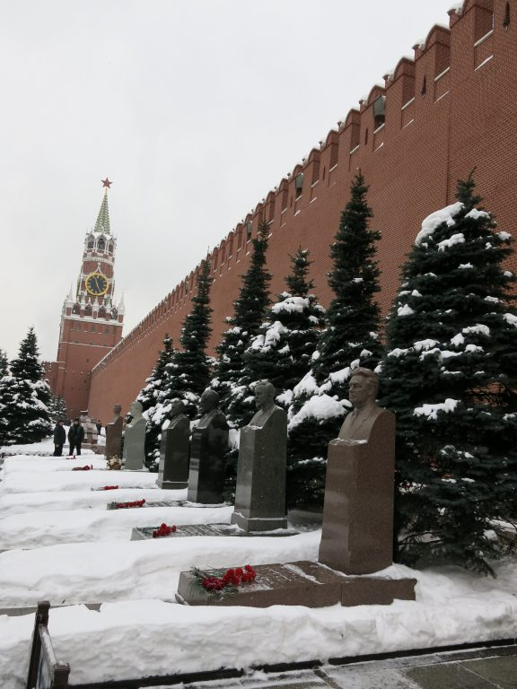 Tombs of former Russian Presidents