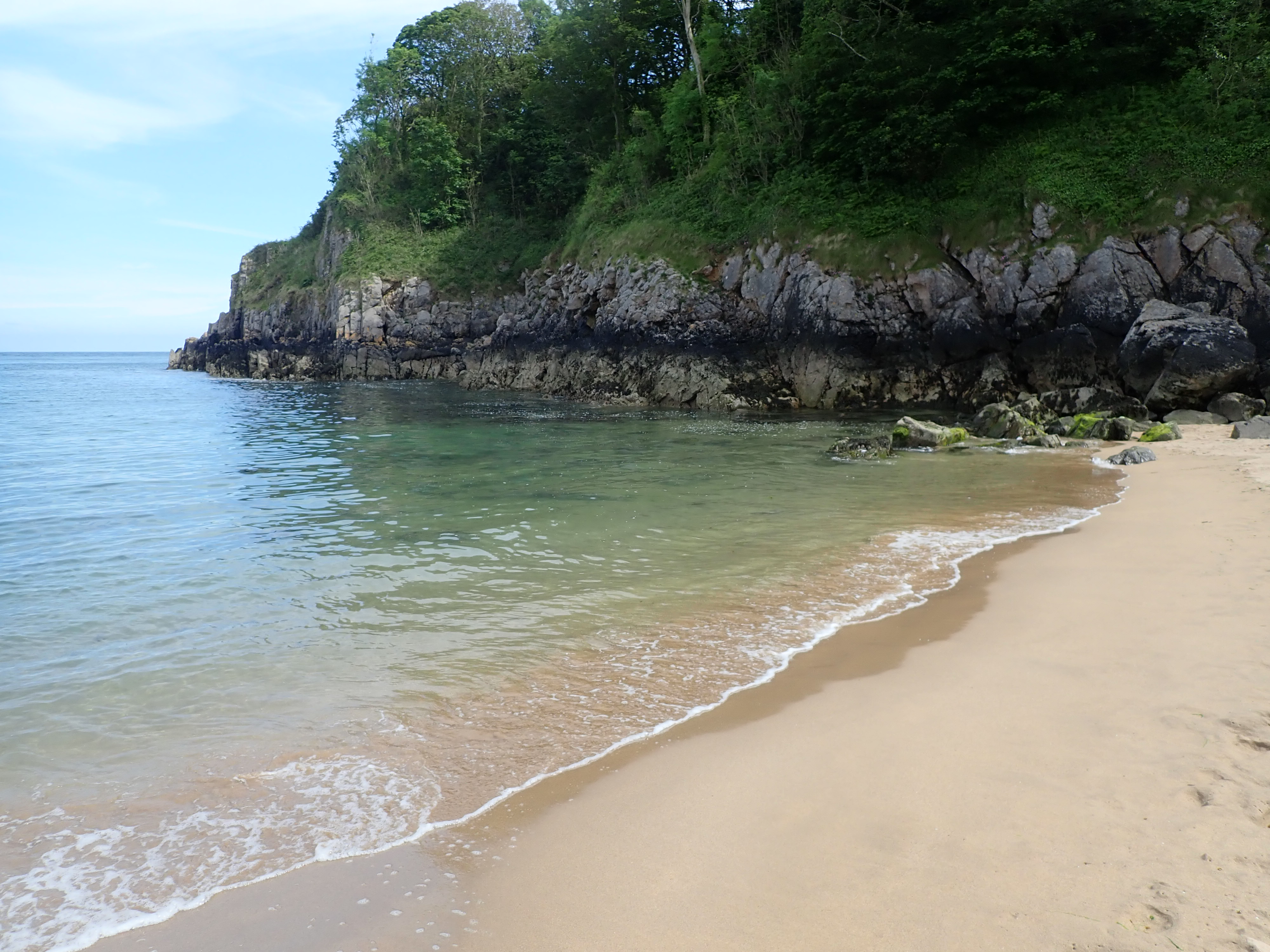 Barafundle Bay -Pembrokeshire beaches