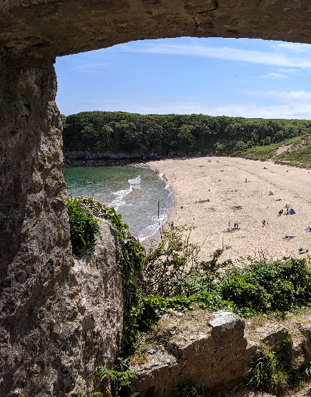 Pembrokeshire beaches Barafundle Bay