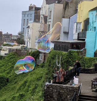 Tenby Town - large bubble
