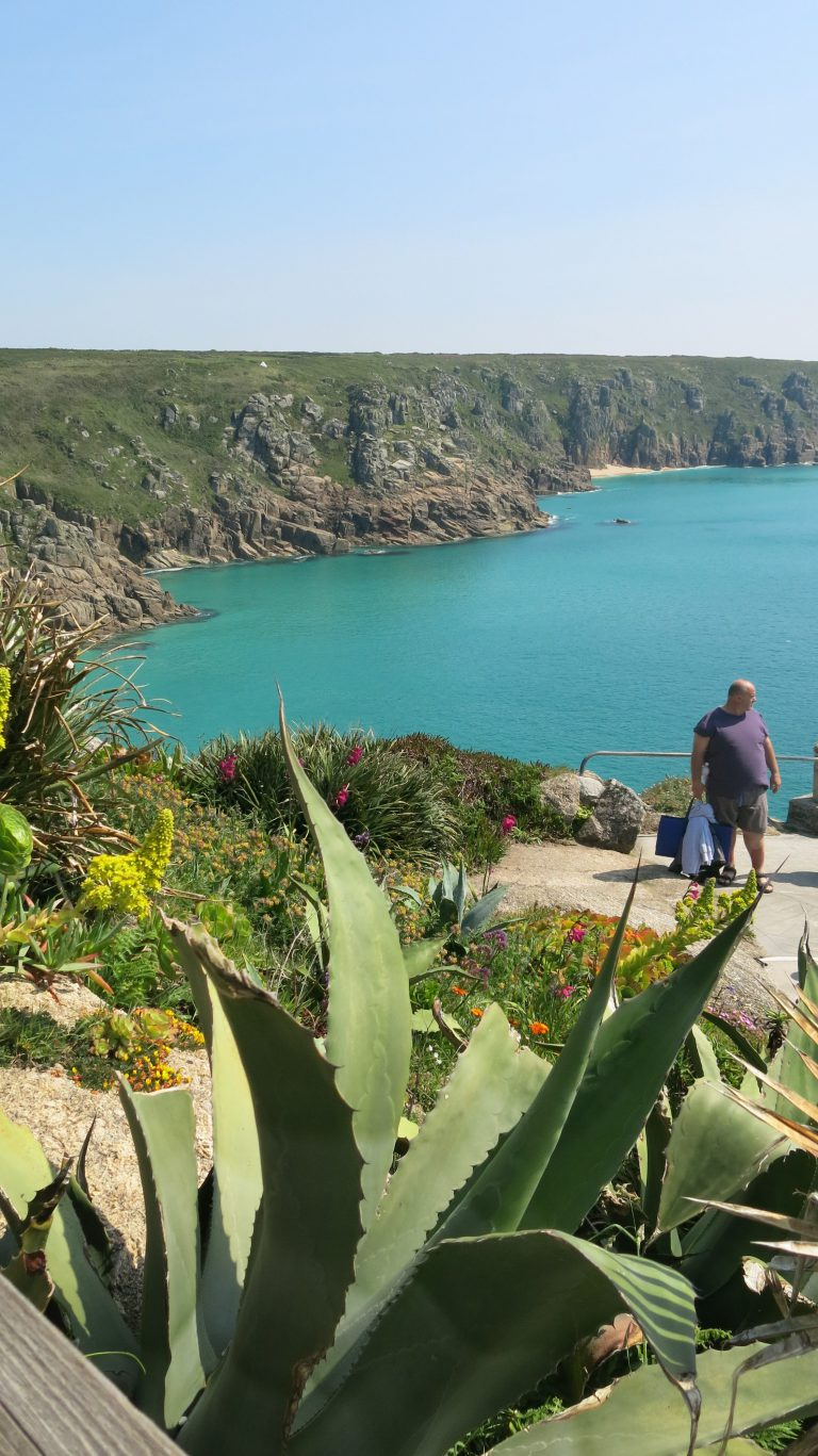 Porthcurno seen from Minack Theatre