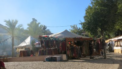Medieval festival at Silves, on the way from Lagos to Lisbon
