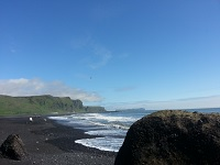 A beach called Vik, Iceland