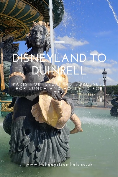 disneyland to duinrell, family road trip, travel tales