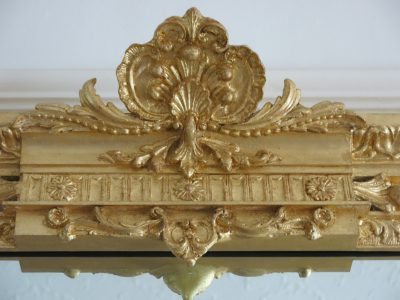Gilt mirrors, Abbots Manor, Combe Raleigh,Devon, Group Accommodation