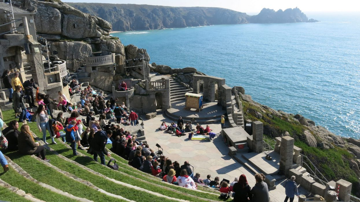 Minack Theatre, St Ives gallery, Best beaches UK