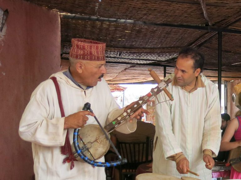 Moroccan band, Morocco photography